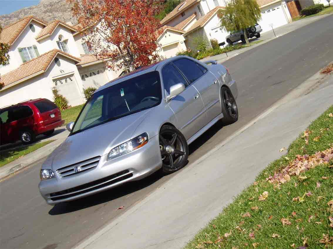2002 honda accord sedan front bumper