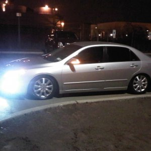 07 accord on D2 Springs