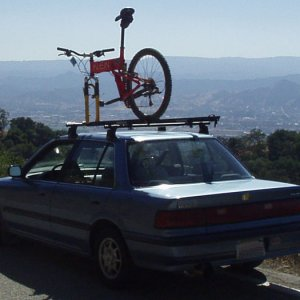 bike on roof